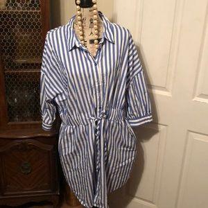 Como Vintage Button down Dress